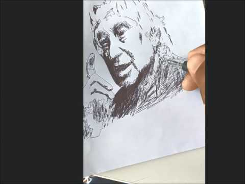 Sketch of Dr. A.P.J. Abdul Kalam(15th October,1931 - 27th July,2015) |by Teenu K Daniel