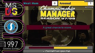 Download Championship Manager Season 97 98 Ms Dos Part 2 MP3, MKV