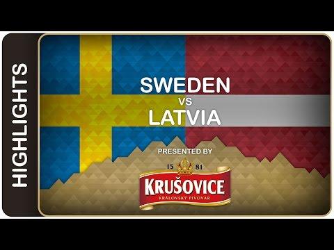 Sweden scrapes win against Latvia - Sweden-Latvia HL - #IIHFWorlds 2016 - 동영상