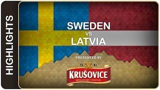 Sweden scrapes win against Latvia | Sweden-Latvia HL | #IIHFWorlds 2016
