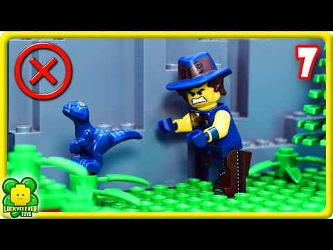 Lego Movie 2 Stop Motion Videos #7   Searching For My Baby Dino Fail