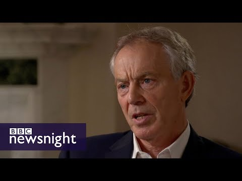 Tony Blair on Corbyn and the lessons from 2017 election (full interview) - BBC Newsnight