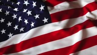 USA ANIMATED FLAG With NATIONAL ANTHEM USA **for Free Use**