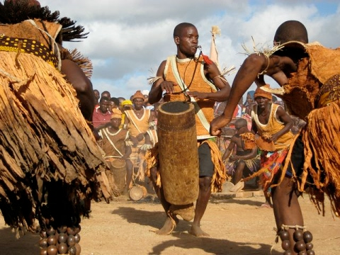 Documentary Movies African Primitive Tribes| Culture |Makonde  tribe dancing, Tanzania.