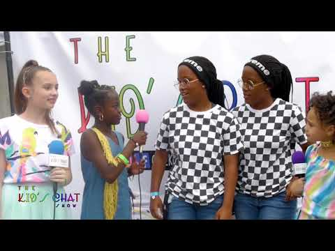 Watch our interview with The Splash Twinz at the Queens Youth Music Festival