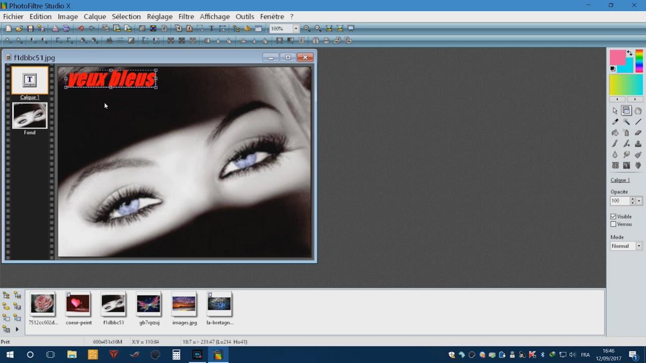 photofiltre studio x gratuit sur clubic