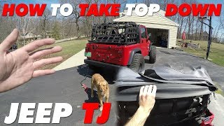 How to Take the Top Down | Jeep TJ