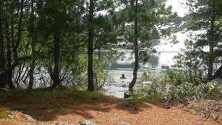 Отдых на горном озере