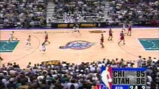 Michael Jordan Last 3 Minutes With Chicago Bulls