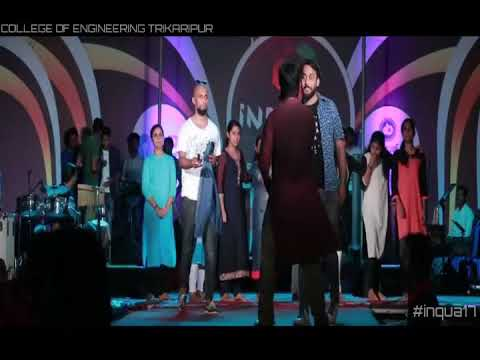 Jimikki Kammal-Vineeth Live Performance@CETkr