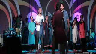 Jimikki Kammal Vineeth Live Performance CETkr