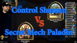 Secret Mech Paladin vs Control Shaman | Hearthstone
