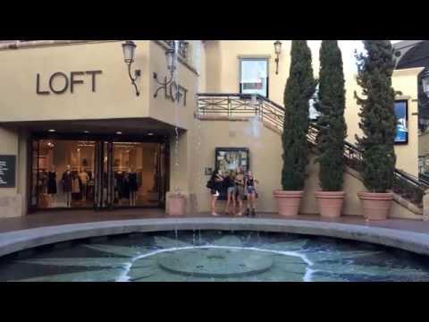 La fontana di Fashion Island