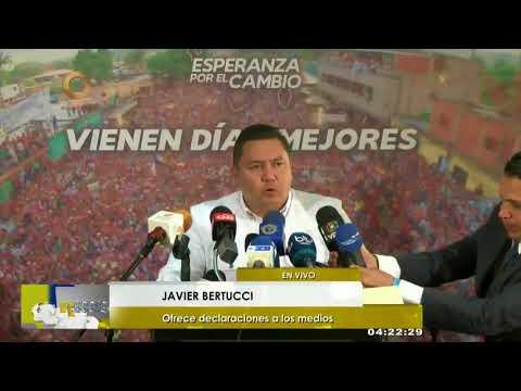 Javier Bertucci: Cuántos votos pasaron por esos puntos rojos en horas de la mañana