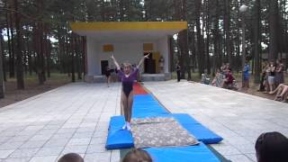 Спортивная гимнастика. Показательные выступления