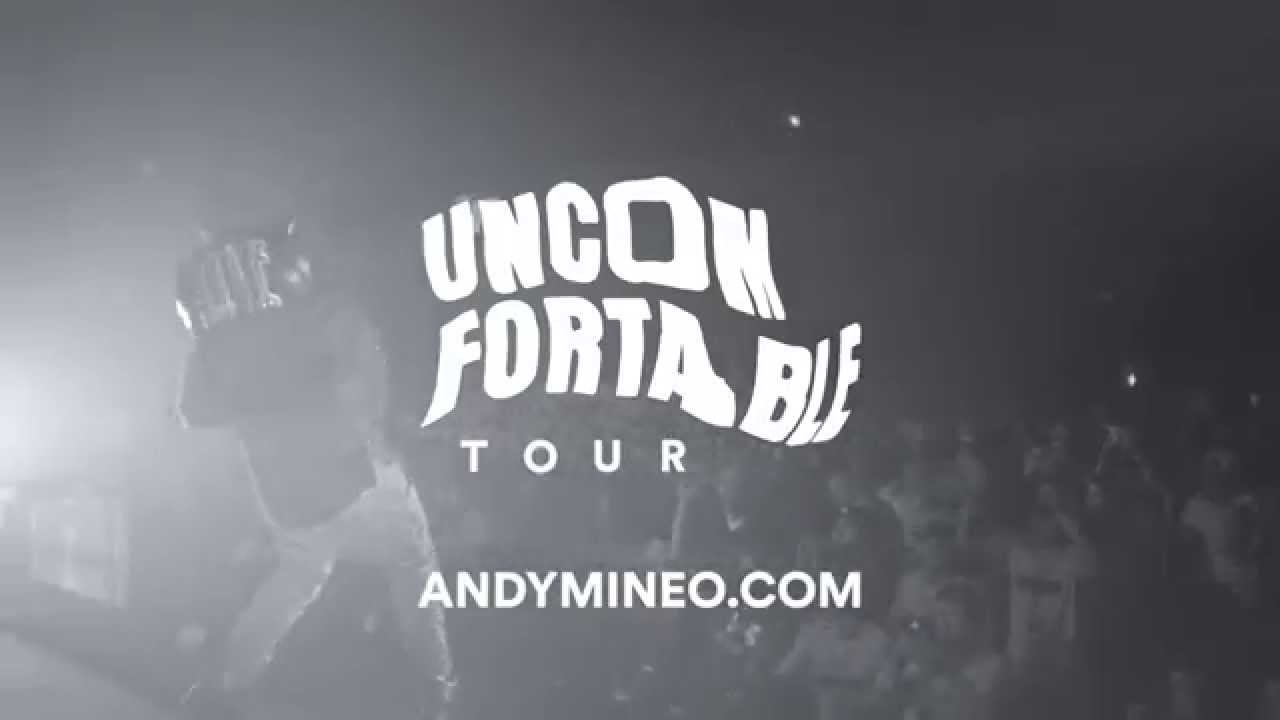Andy Mineo Uncomfortable Tour Promo Video 1 Youtube