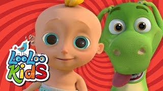 Zigaloo Dance - Johny & Dino Fun 🦕 | LooLoo Kids