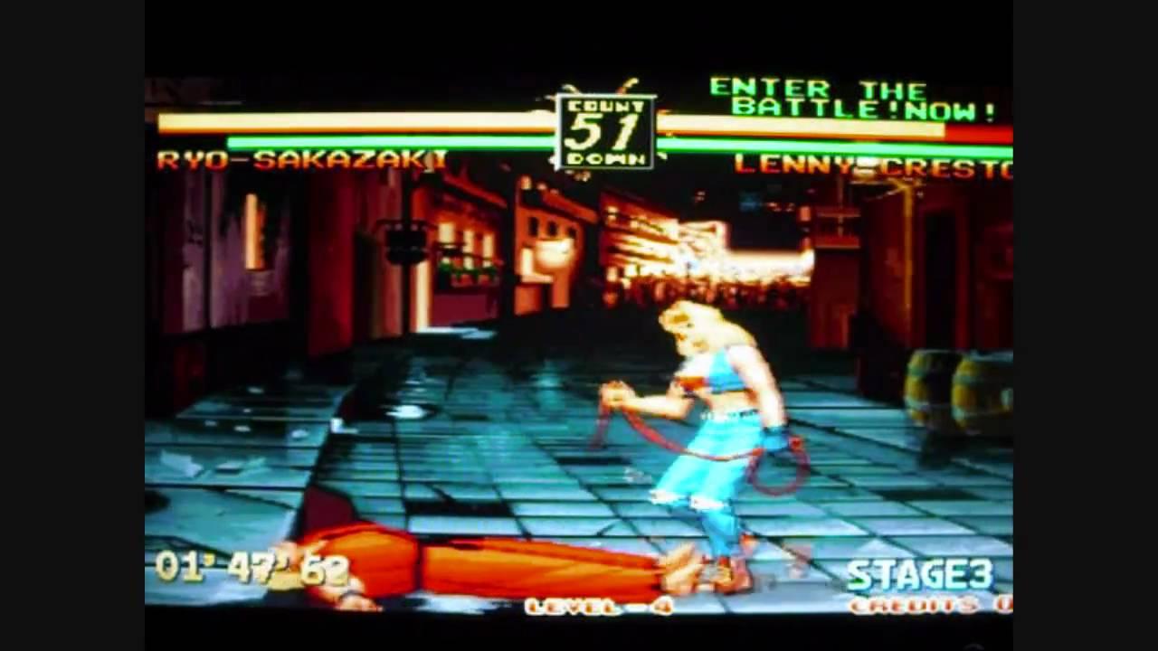 Art Of Fighting 3 Neo Geo Mvs Gameplay Video Youtube