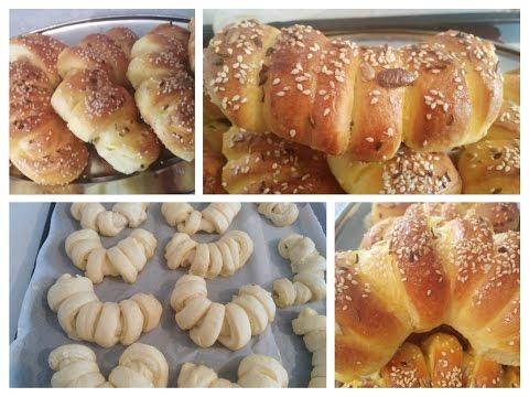 Bakina kuhinja - kifle sa feta sirom (rolls with feta cheese)