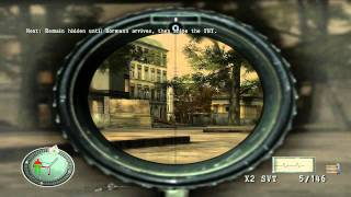 Sniper Elite - Level 4 - Assassinate Bormann - Brandenburg Gate