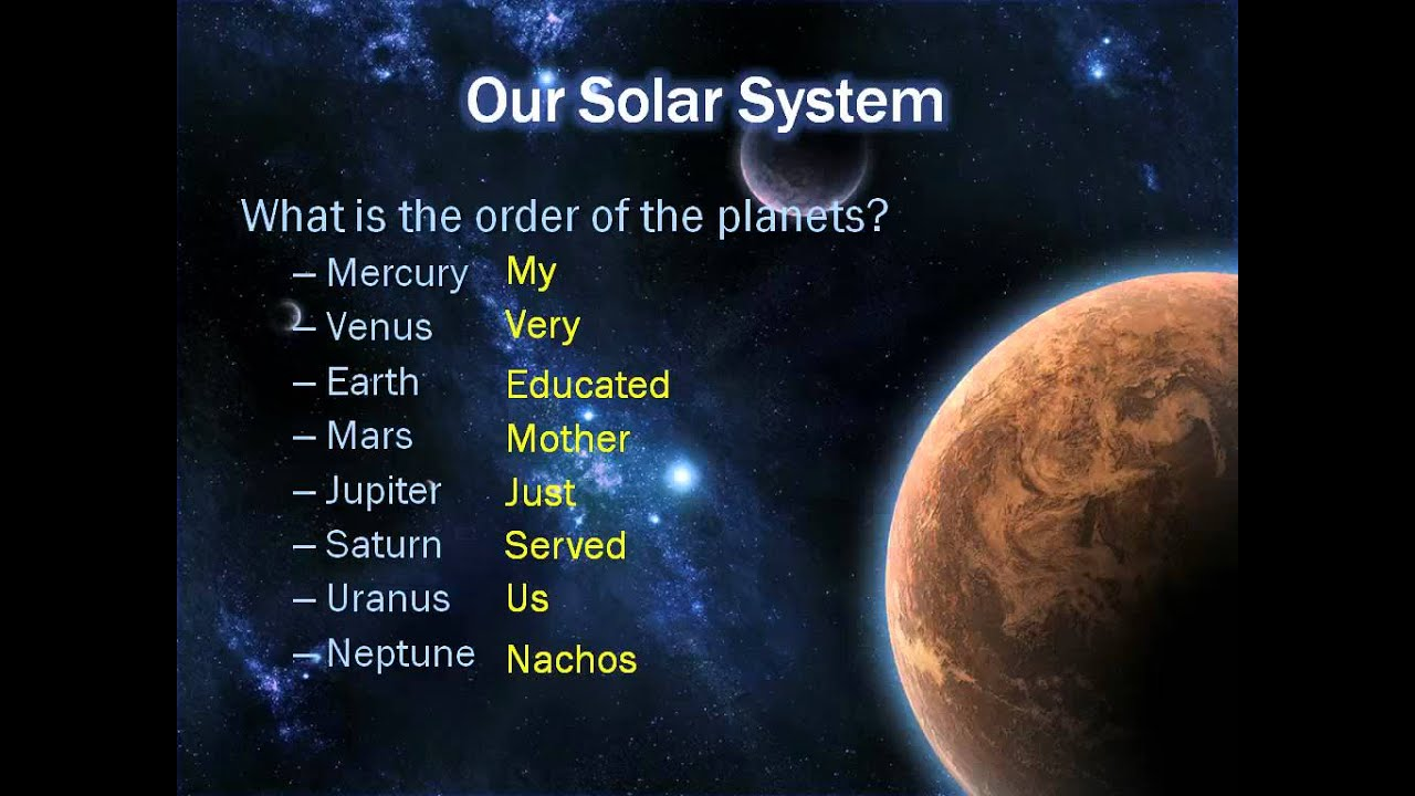 6th grade solar system powerpoints - photo #13