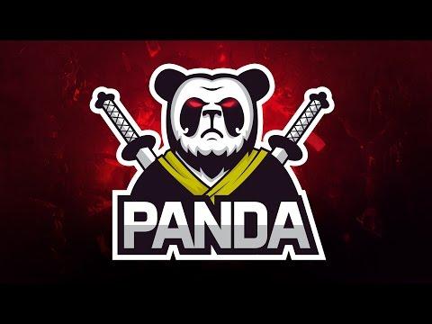 Adobe Illustrator CC Tutorial:   Design E Sports - Sports Logo for Your Team -  Panda Logo