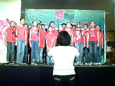 FGNHS Choir - Filipino Christmas song