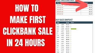 How I Made $400+ FIRST WEEK ON CLICKBANK (EASY, FREE, BEGINNER ) In 2020