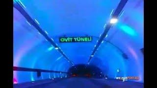 Ovit Tünelinden İlk Görüntüler