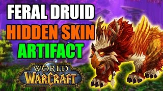 How to Get the Hidden Feral Druid Artifact Skin: Feather of the Moonspirit in World of Warcraft