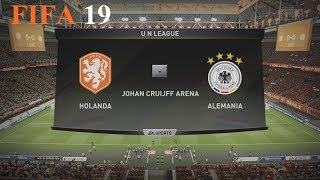 FIFA 19 - Uefa Nations League - Holanda vs. Alemania @ Johan Cruijff Arena