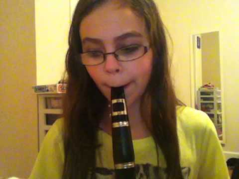 Me Playing Jingle Bells On The Clarinet