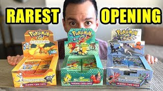RAREST Pokemon Cards Opening I've Ever Done! (ONLY Skyridge, Aquapolis and Expedition Packs)