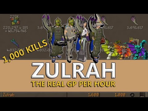 4 Ways to Make Bank at Zulrah (Welfare & High Tier)