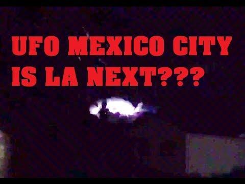 UFO Caught on Live News Mexico City Earthquake is LA NEXT????