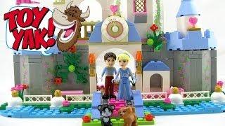 Lego Disney Princess Cinderella's Romantic Castle Set #41055 Video Review Mp4