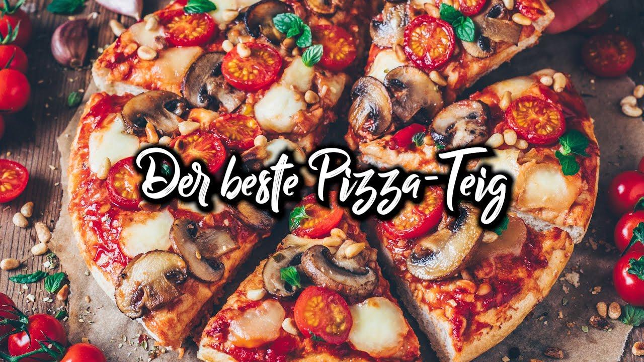 Der beste Pizza-Teig | American Pizza * Rezept
