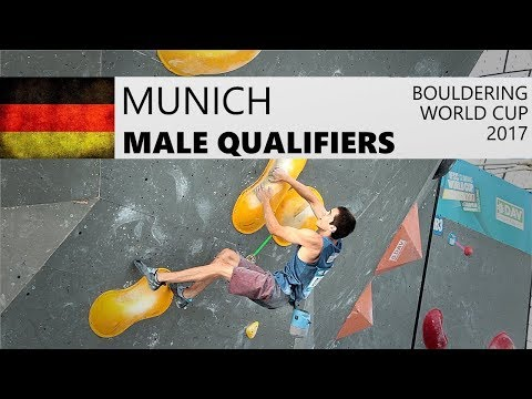 Munich Bouldering World Cup 2017 | Male Qualifiers