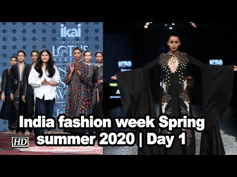 All new at India fashion week Spring summer 2020 | Day 1