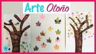 Arte De Otoño- Pintando y creando arboles y hojas de Otoño- Actividades Para Niños|| Toda Mamá