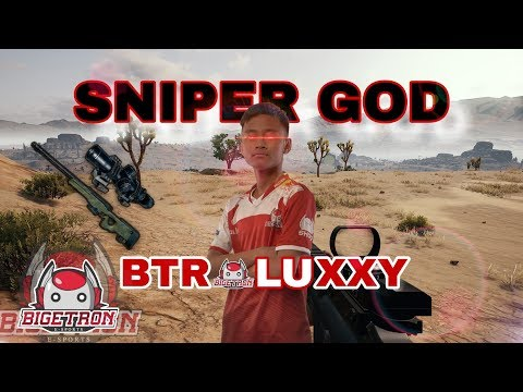 BTR LUXXY RAJANYA SNIPER!?! - PUBG MOBILE INDONESIA