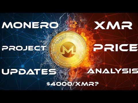 Monero Project Updates & XMR Price Analysis: $4000/XMR?