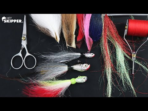 DIY LURES: So Simple! ($3 Bucktail Jigs)
