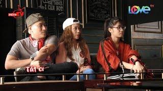 Nam chính Em Chưa 18 Kiều Minh Tuấn trổ tài pha chế rượu trong Luca Pub phố Tây Bùi Viện