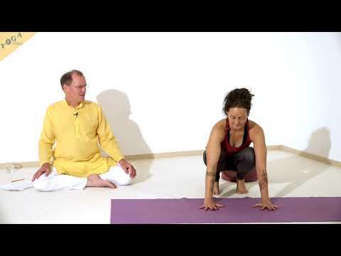 Lotus Krähe - Yoga Asana Lexikon