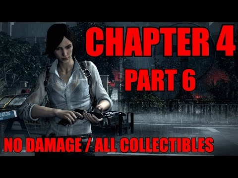 The Evil Within THE CONSEQUENCE Walkthrough Pt.6 CH4 - A Ghost is Born All Collectibles (PS4)