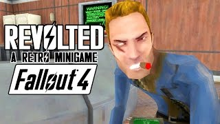 Fallout 4 Quest Mods - Revolted - The Retro Minigame - AWESOME MOD by Cohagen - Full Playthrough