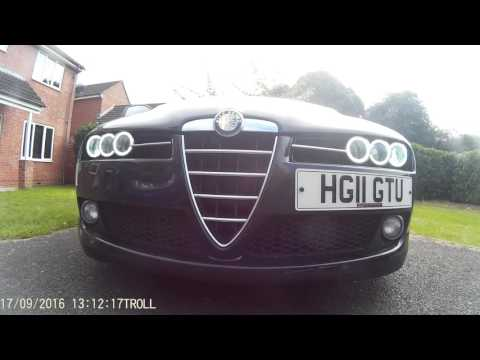 Alfa Romeo 159, Brera, spider COB halo angel eyes headlights