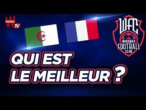 ⚽ Algérie - France : qui est le meilleur ?