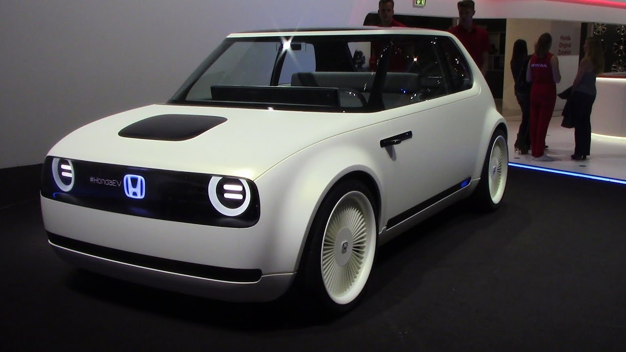 Cool Electric Car Honda Urban Ev Concept Frankfurt Auto Show 2017